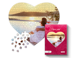 Photo puzzle 600 pieces with box